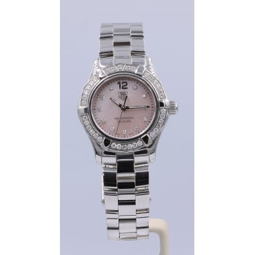 Ladies Stainless Steel Aquaterra Watch