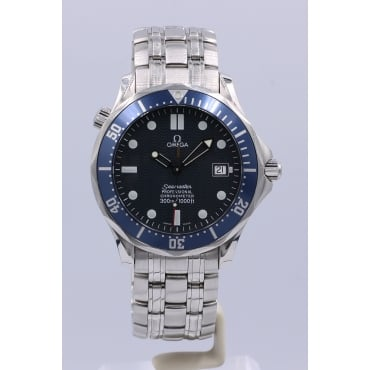 Men's Stainless Steel Automatic Seamaster Watch