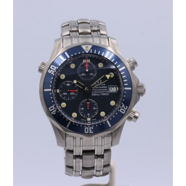 Men's Titanium Seamaster Watch