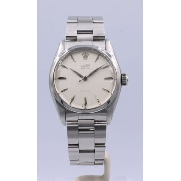 Men's Stainless Steel Oyster Royal Precision Watch. 6426