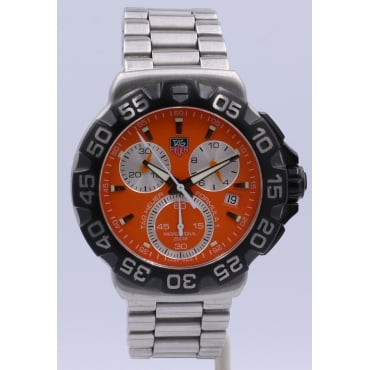 Men's Stainless Steel Formula 1 Watch.