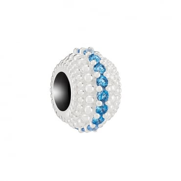One Thousand Sparkles Arctic Blue Charm 2025-2329