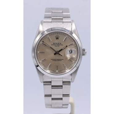 Men's Oyster Perpetual Date. 15200