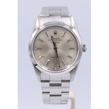 Men's Stainless Steel Airking. 14000