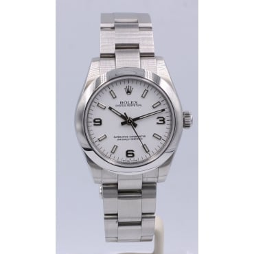 Mid-Size Stainless Steel Oyster Perpetual. 177200