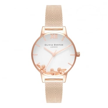 Busy Bees Rose Gold Mesh OB16CH01