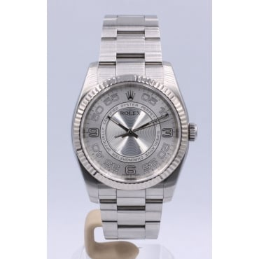 Men's Stainless Steel Oyster Perpetual Watch. 116034