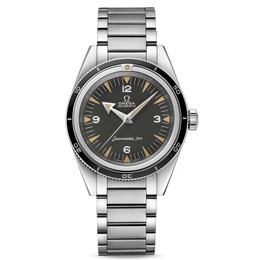 MEN'S SEAMASTER 300 OMEGA CO-AXIAL MASTER CHRONOMETER 39 MM The 1957 Trilogy. 234.10.39.20.01.001