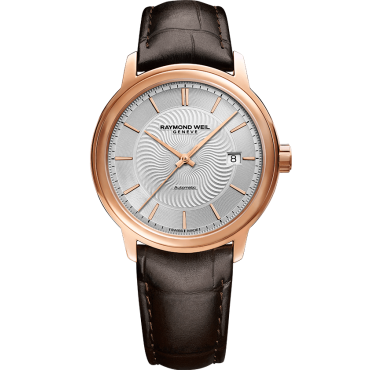 Maestro Mens Rose Gold Watch