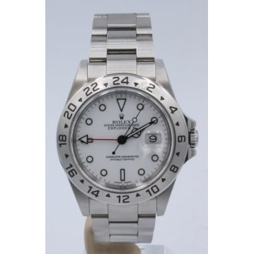 Men's Stainless Steel Explorer II Watch. 16570