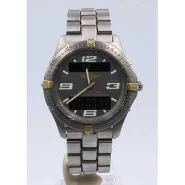 Men's Titanium Aerospace Watch