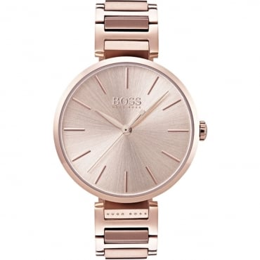 Ladies PVD Rose Allusion Watch. 1502418