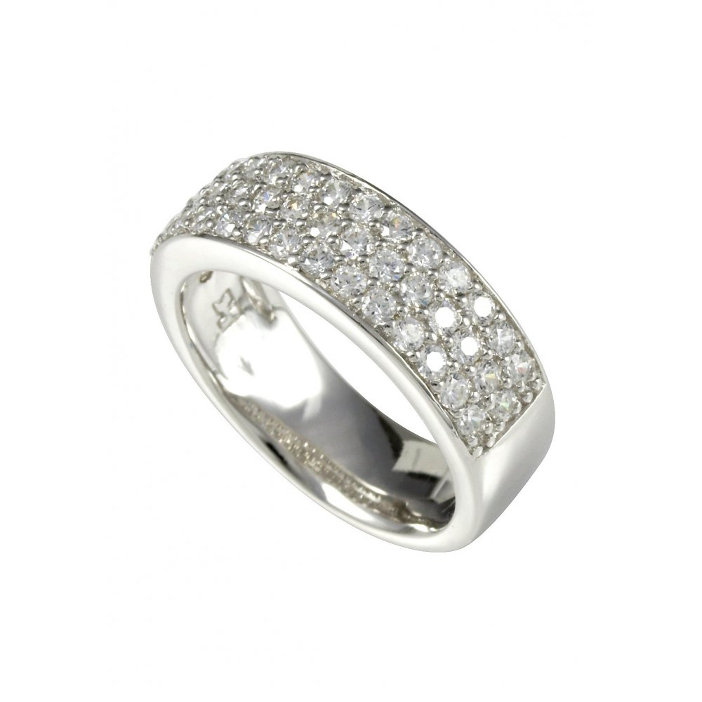 merri silver pave ring m0473r sterling