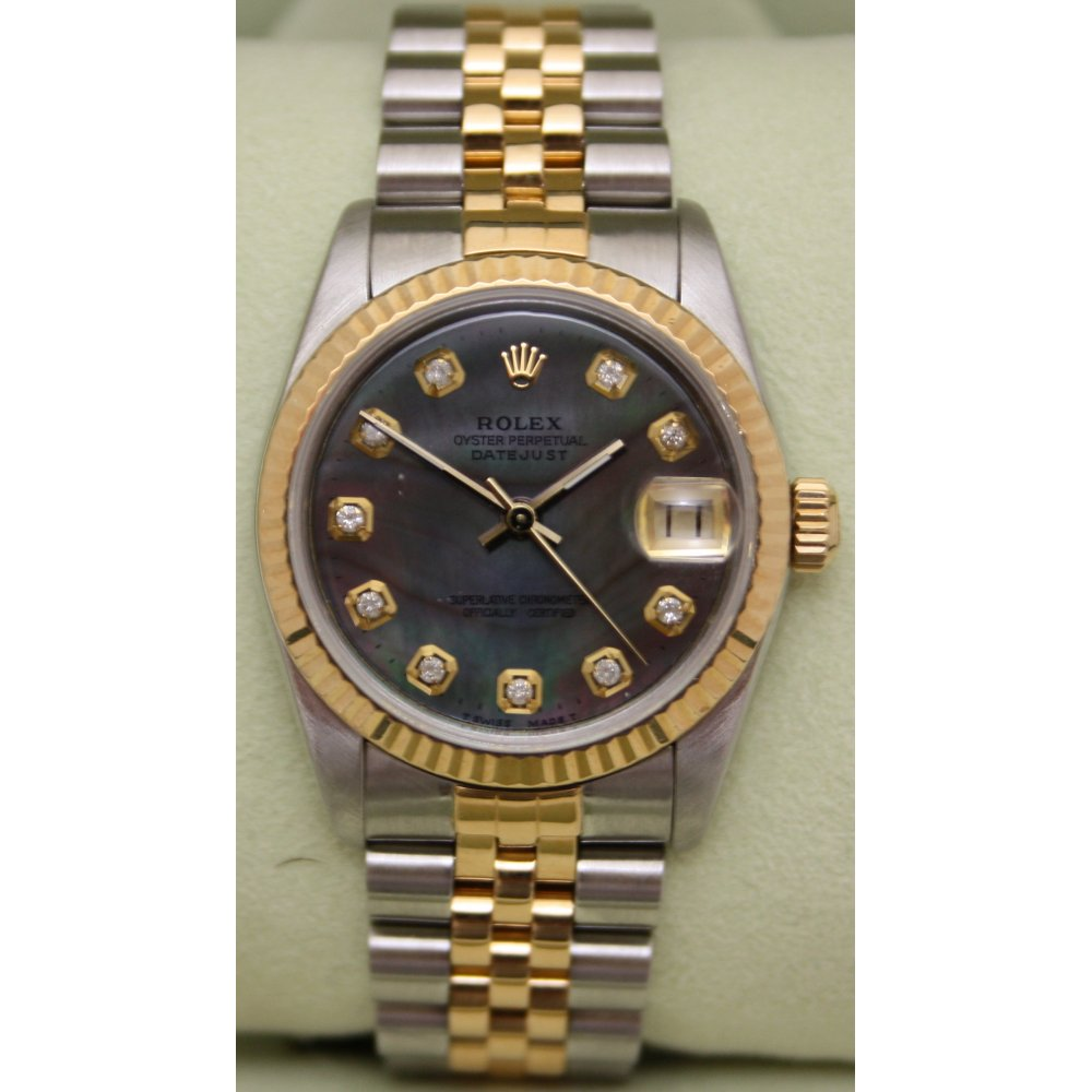 Rolex Oyster Perpetual Datejust Diamond Dial Price