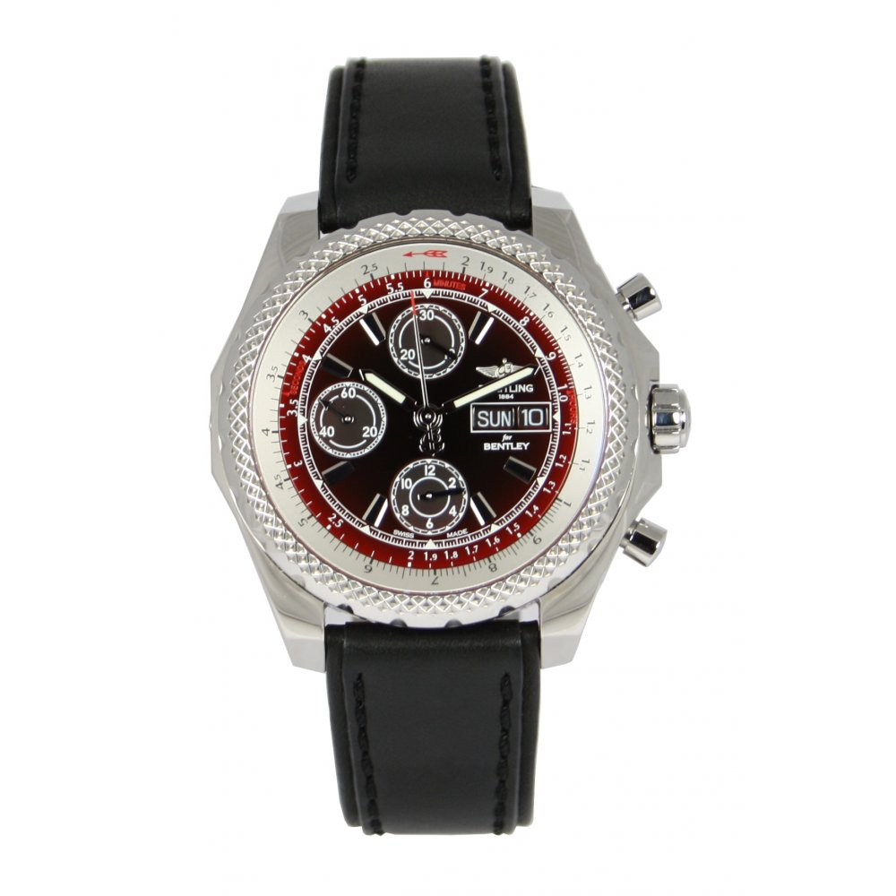 Mens Breitling For Bentley GT II Chronograph