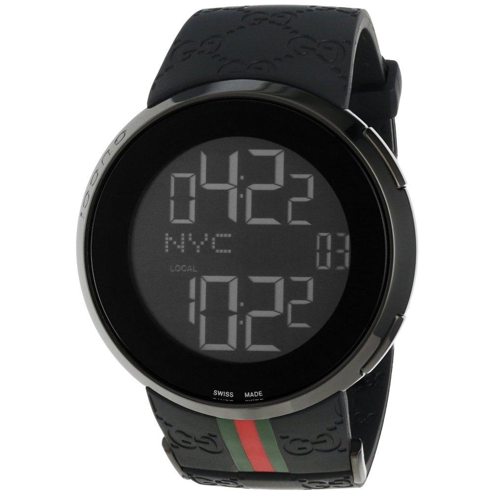 Mens Digital Gucci YA114207 I-Gucci Watch - Gucci Watches ...