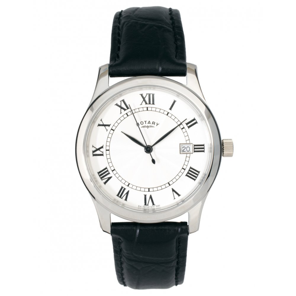 mens rotary leather watch gs00792 21 mens rotary watches mens leather watch gs00792 21