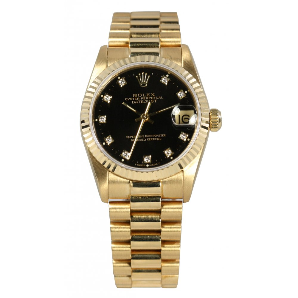 Rolex Datejust Oyster Perpetual Gold