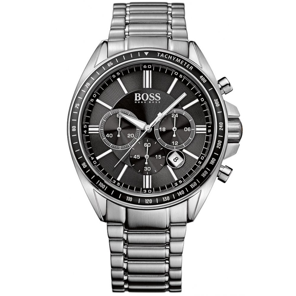 home watches hugo boss hugo boss mens chronograph watch. Black Bedroom Furniture Sets. Home Design Ideas