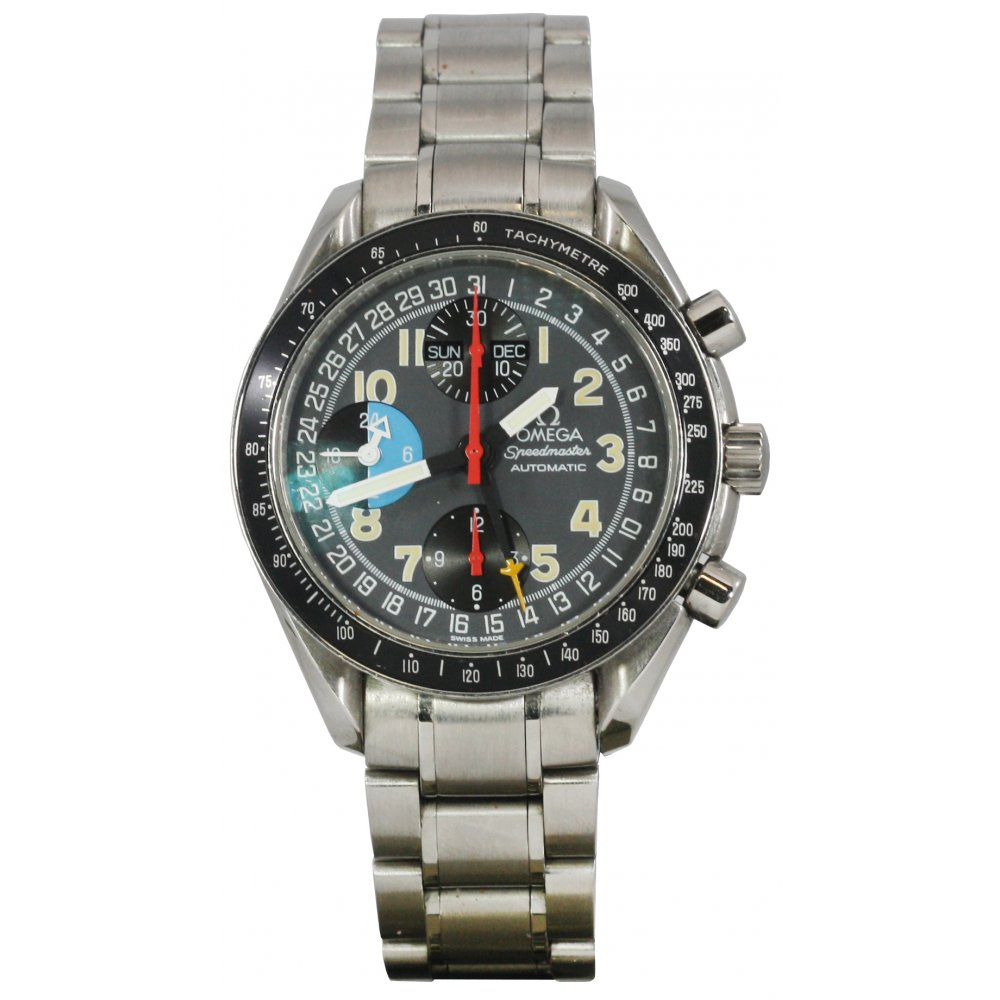 pre owned omega mens automatic speedmaster pre owned
