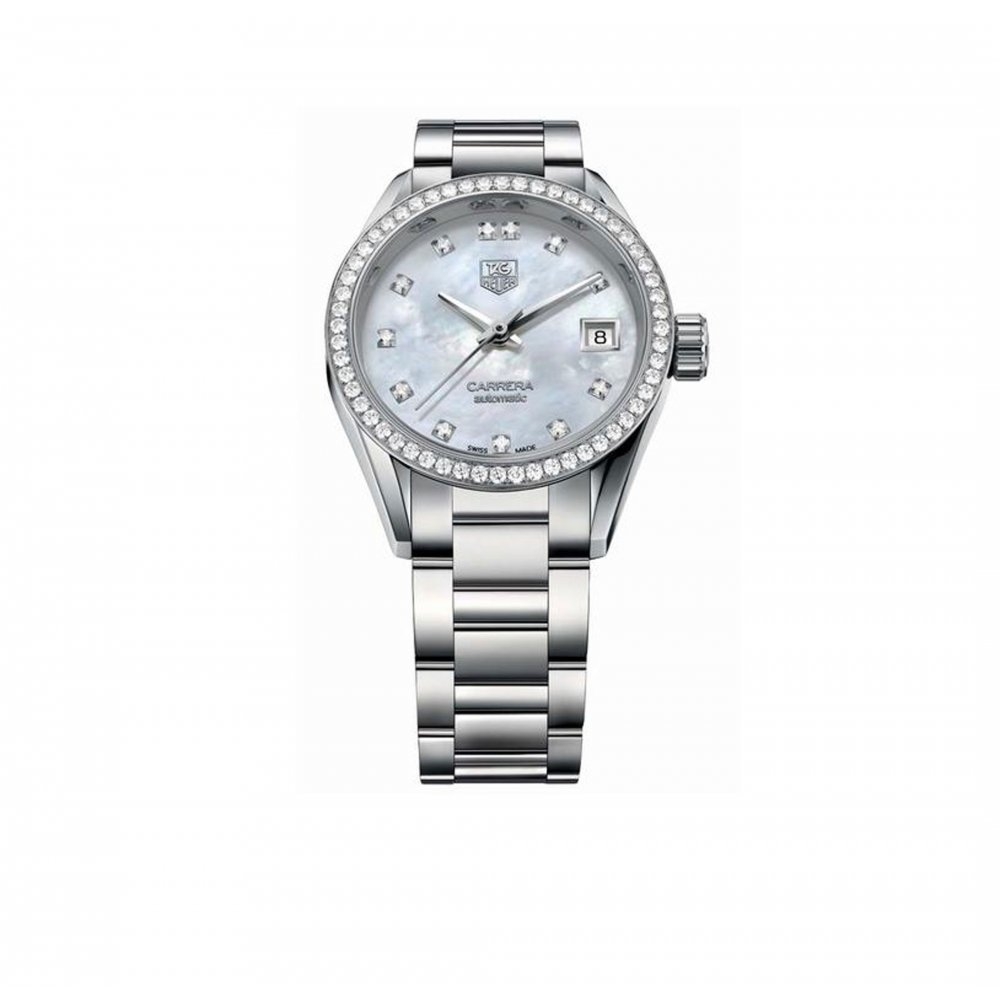 Tag heuer carrera automatic ladies watch war2452 bd0772 for Tag heuer women